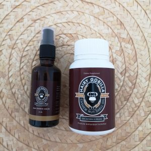 Hair Serum & Vitamin Set